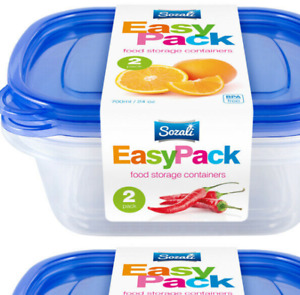 4 Sizes Transparent Kitchen Fridge Storage Organizer Box Plastic Spice Sealed