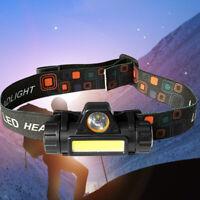 12000LM USB Rechargeable COB LED Headlamp Headlight Head Light Torch Flashlight
