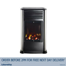 Manhattan Portable Gas Heater (3.4kw) - Calor Real Flame