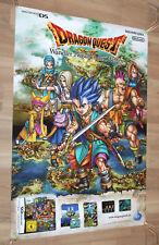 Dragon Quest VI very rare promo Poster 84x59.5cm Nintendo DS