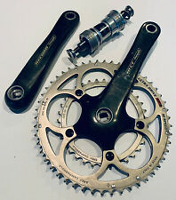 Campagnole Record 10 Speed 50/34 Compact Carbon Crankset 172.5mm with BB