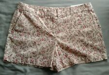 NWT Ann Taylor LOFT size 10 Pink Floral Shorts