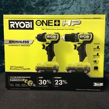 NEW RYOBI Drill And Impact Driver 18-Volt Brushless Cordless Battery Charger Bag