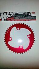 MCS BMX 110 Chainring USA Made CNC 44 T Bleu