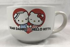 Sanrio Dear Daniel Hello Kitty Large Ceramic Coffee Cappuccino Soup Cup Mug
