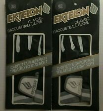 Ektelon Classic Racquetball Glove Vintage New in Package Men's Right Large 2 Lot