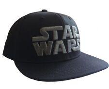 Cappello Star Wars Black/Grey Logo snapback Cap Hat LucasFilm
