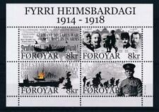 [313087] Faroe Islands 2015 War good sheet very fine MNH