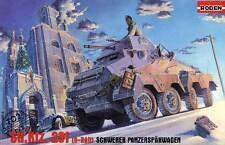 ABATTAGE DES ARBRES Sd.Kfz. 231 8-roue Char 1:72 Voiture blindée modèle-kit kit