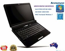Lenovo IdeaPad S10E Netbook RED WiFi (2GB 160GB HDD Intel Atom 1.6 GHz) Win7 AC