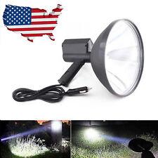 "9""CREE Handheld LED Spotlight Hunting Camping Search light Fishing Farming 12V"