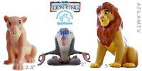 Lion King PVC Figure Simba Nala Rafiki Applause Disney Cake Topper Figurine