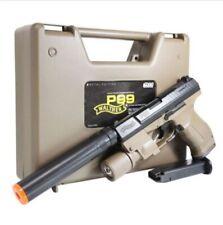 ACRO Walther P99 METAL EDITION (Tan) Airsoft Pistol Cocking Hand BB Toy Gun SET