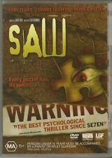 Saw DVD First Movie Danny Glover Thriller Horror
