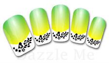 3D Nail Art Sticker Decals Transfer Stickers French Tip Design Flower (3D829)