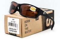 NEW COSTA DEL MAR JOSE SUNGLASSES Black frame / Copper 580P Polarized lens