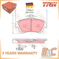 FRONT DISC BRAKE PAD SET SMART MITSUBISHI TRW OEM 4605A658 GDB3389 HEAVY DUTY