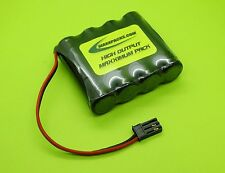 4.8V 1400mA NICAD A FLAT RX BATTERY 4 RC AIRPLANES / AIRTRONICS SANWA CONNECTOR