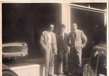 vecchia fotografia JUVENTUS - SIVORI con dirigenti ?? cm. 15x10