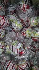 75 LIMITED EDITION LINDT LINDOR WHITE CHOCOLATE PEPPERMINT  TRUFFLES (2+LBS)