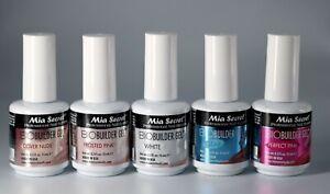 Mia Secret Professional Nail System BIO BUILDER GEL 0.5 oz - Select Your Color