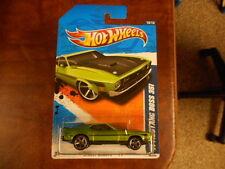 Hot Wheels Street Beast '11 '71 Mustang Boss 351 Light Green MONMC (see picture)