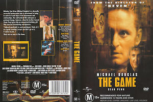 The Game DVD _ Michael Douglas _ SEAN PENN _ RARE - DAVID FINCHER FILM_R4