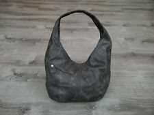 Rustic Leather Hobo Bag with Pockets, Everyday Casual Women Handbags, Alicia