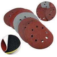 5in 800-3000 Grit Hook Loop Pads Sanding Disc Sandpaper Sheet Sander