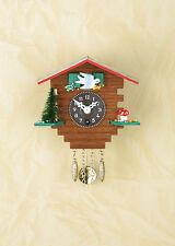 Orologio a pendolo Casa legno Black Forest nera cucù fatto germania 32 P