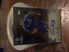 2015-16 Topps UEFA Champions League Autograph  Gold Diego Costa #/50
