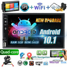 2 Din Android 10.1 Car Radio 7 Inch WiFi Stereo GPS Touch Screen MP5 FM &Camera