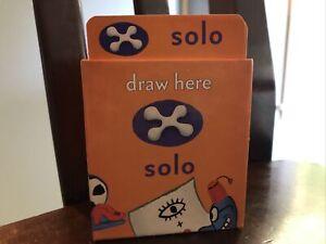Cranium Cadoo Replacement SOLO Orange Card Deck Family Game
