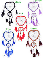 Handmade Dream Catcher with feather wall or car hanging decoration ornament-HMU