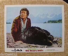 The Bears and I, 1974, Walt Disney Lobby Card, Technicolor, Buena Vista