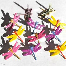 Brads - Bulk - Dragonfly bright insect bug - pk of 15 - scrapbooking