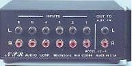 MCM Custom Audio Six Input Stereo Line Level Source