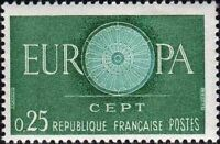 "FRANCE N°1266 ""EUROPA 25C"" NEUF xx TTB"