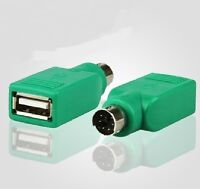 USB A Female to PS/2 Keyboard Mouse Converter Connector Adapter