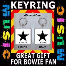 DAVID BOWIE -'Blackstar' -- 45X45 mm KEYRING - CD COVER #1