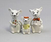 9942598 Porcelain Maus-Familie Kinder-Märchen Wagner & Apel H9cm