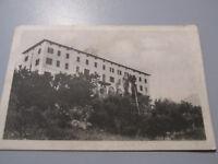 Carte Postale Vintage Gualdo Tadino Institut S.Roberto Shipped