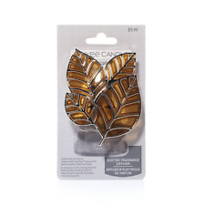 ☆☆YANKEE CANDLE AUTUMN LEAVES PLUG IN DIFFUSER BASE☆☆☆FREE FAST SHIPPING