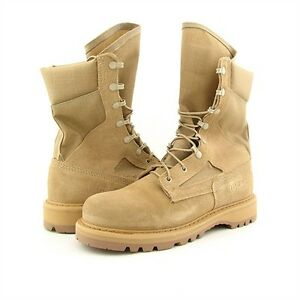 "New Military Army Hot Weather Desert Tan Rocky 8"" Temperature Boot 782 Men's 7 R"
