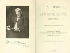 1898 JESSAMINE County, Kentucky KY, History and Genealogy, Ancestry DVD CD B03