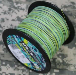 Spiderwire Ultracast x8 Braided Fish Line 40# Test 2188 Yds HiViz Aqua Camo NEW!