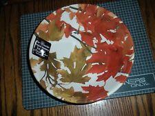 Victorian English Pottery Fall Leaves Thanksgiving Bowl Edward Challinor