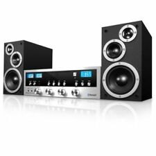 Bluetooth Wireless Sound Stereo System With Subwoofer Speakers Home Theater New