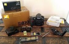 Nikon D810 36.3 MP FX Digital SLR Camera w/ Extras!