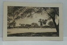 Honolulu Hawaii Golf Course Photo Post Card 1950 US Navy Cancel Air Mail Stamp